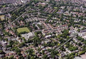 Whalley Range Aerial Photograph