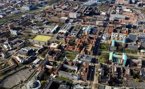 Manchester University from the air