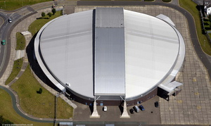 Manchester Velodrome  from the air