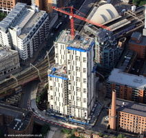 One Cambridge Street, Manchester   from the air