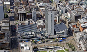 Piccadilly Plaza,  Manchester from the air