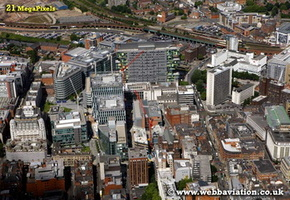 Manchester aerial photograph