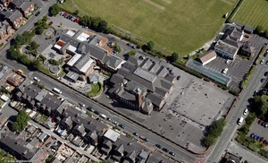 Werneth Primary School Oldham  from the air