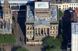Harris Museum & Art Gallery Preston  aerial photograph