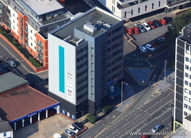 Marshall House, Ring Way, Preston, PR1 aerial photograph
