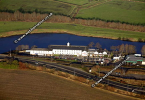 Trickled Trout Preston Lancashire aerial photograph