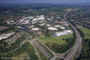 Walton Summit Centre, Preston aerial photograph