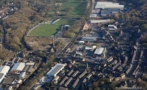 Ramsbottom  Lancashire from the air