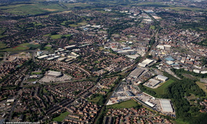 Newbold  Rochdale Greater Manchester  from the air