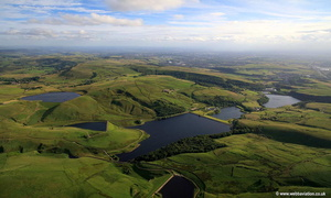 Piethorne Reservoir  aerial photograph