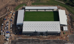 The Salford City Stadium aerial photograph