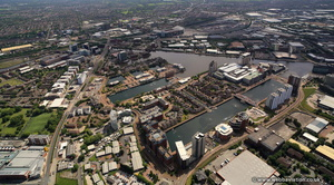 Erie Basin, Salford Quays  aerial photo
