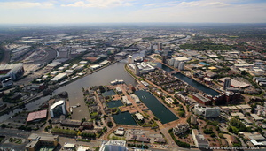 Ontario Quay, Salford Quays  aerial photo