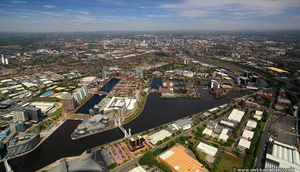 Erie Quay, Salford Quays  aerial photo