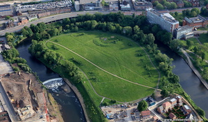 The Meadows Salford  from the air