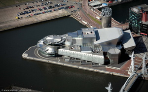 The Lowry  aerial photograph