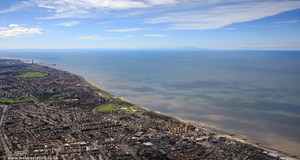 Cleveleys Lancashire from the air