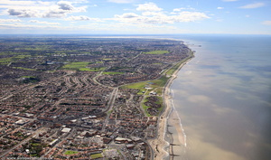 Cleveleys, Thornton-Cleveleys Lancashire FY5   from the air