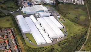 Global Renewables Lancashire Thornton Waste Centre, Thornton Cleveleys, Lancashire FY5 from the air