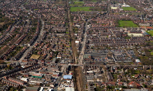 Urmston Greater aerial photograph