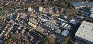 Westhoughton Industrial Estate, James St, Westhoughton  from the air