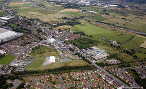 Westhoughton from the air