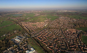 Westhoughton Lancs  from the air