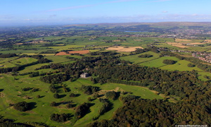 Haigh Hall Country Park  Wigan aerial photograph