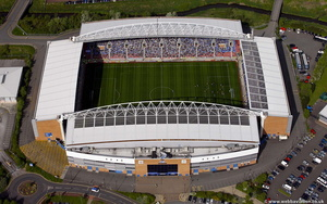 DW Stadium  Wigan aerial photograph