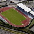 Robin Park Arena Wigan from the air