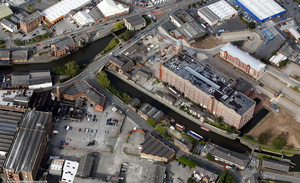 Trenchfield Mill  Wigan aerial photograph