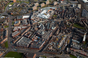Wigan aerial photograph