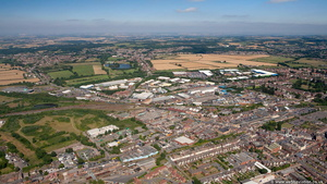 Coalville from the air