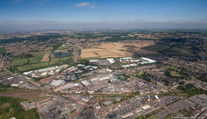 Hermitage Industrial Estate, Coalville LE67 from the air