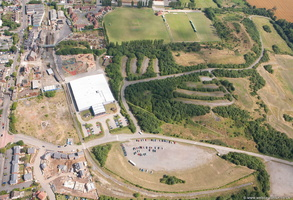Snibston Discovery Museum from the air
