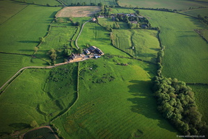 Cold Newton Deserted Medieval Village ( DMV )  Leicestershire  aerial photograph