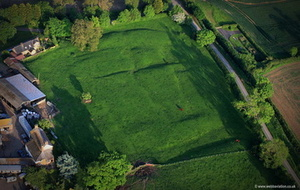 Cold Newton Desserted Medieval Village ( DMV )Leicestershire  aerial photograph