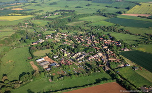 Eaton, Leicestershire from the air