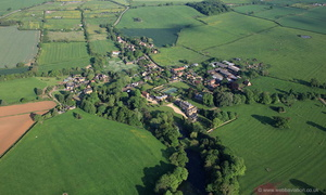 Goadby Marwood   from the air