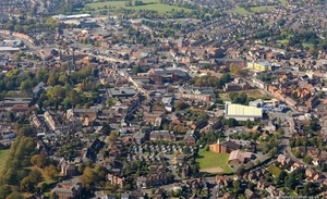 Hinckely  from the air