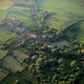 Holwell near Melton Mowbray Leicestershire aerial photograph