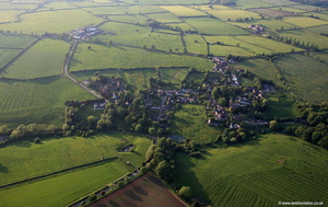 Hungarton Leicestershire  aerial photograph