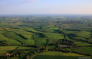Ingarsby Leicestershire  aerial photograph