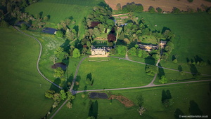 Launde Abbey Leicestershire aerial photograph