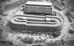 Auto-Magic Car Park, Leicester   from the air