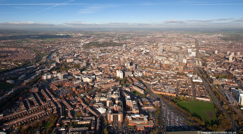 Aerial Photograph of Leicester