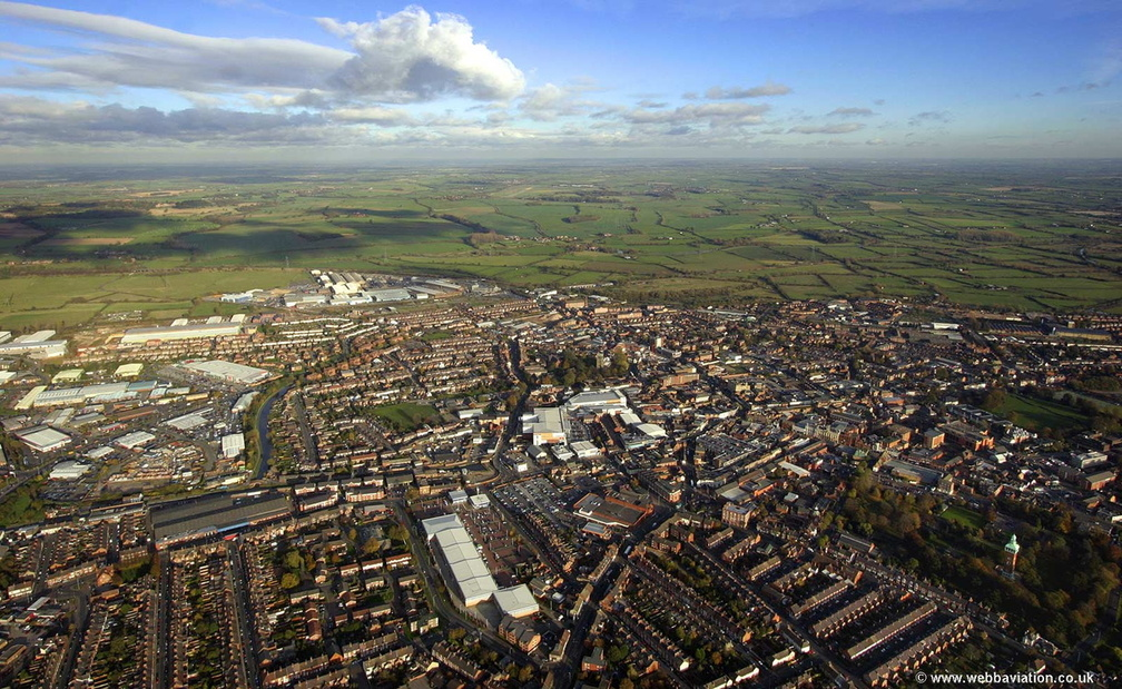 Loughborough  from the air