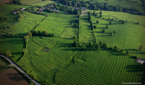 Lowesby deserted medieval village (DMV)  aerial photograph