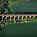 John O'Gaunt Viaduct near Marefield  Leicestershire  aerial photograph