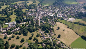 Market Bowsworth  Leicestershire England UK aerial photograph